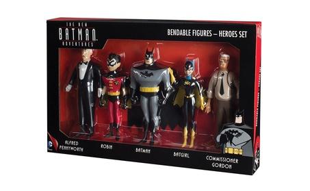 NJ Croce New Batman Adventures Bendable Figure Boxed Set de2ba4ad-8ced-46b3-9da5-5d664d0c683d