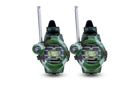 Pair of 7 in 1 Children's Walkie Talkie Watches Game Interphone 0f740a9d-98f9-4064-93a4-9dbb8a927d2c