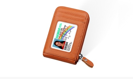 Zip Vault RFID Blocker And Card Holder