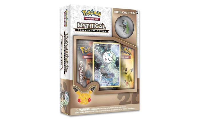Up To 27 Off On Pokemon Tcg Mythical Collecti Groupon Goods