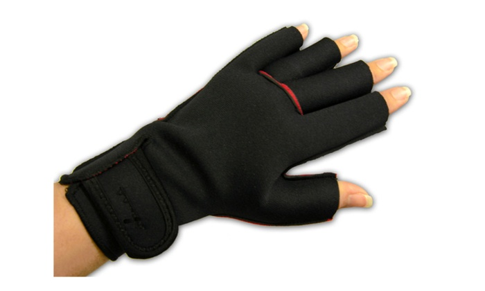 Compression Gloves Winter Fingerless Fashion Soft