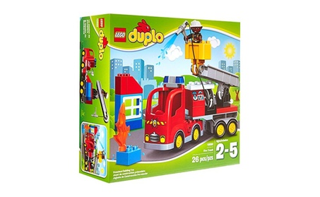 LEGO DUPLO Town Fire Truck 10592 Buildable Toy For 3-Year-Olds 7f76b0b3-a46c-4079-b914-e8961c3a92e4