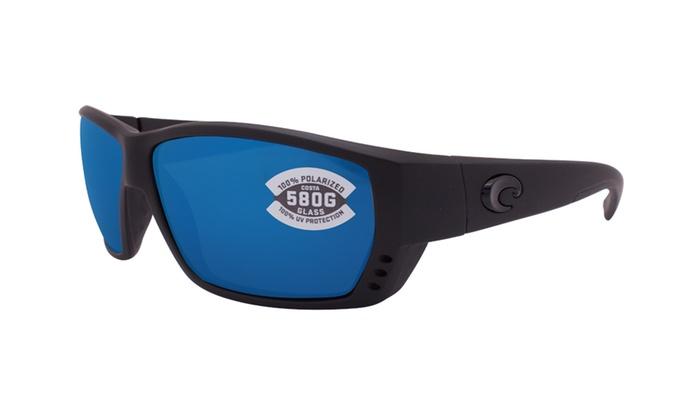 b0b8614fba Costa Del Mar Tuna Alley Sunglasses TA 01 OBMGLP Blackout   Blue 580G  Polarized