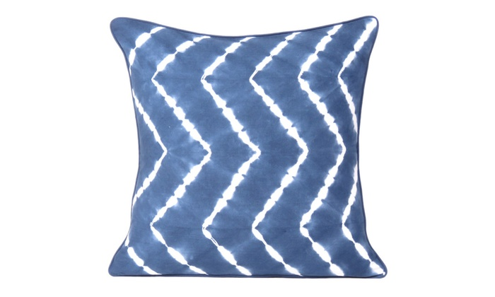 Indigo Tie Dye Cushion And Pillow Covers For Home Decor