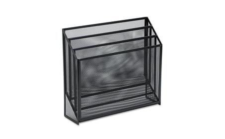Eldon Office Products 22347ELD Mesh Three-Tier Organizer - Black c2139bb8-c4a9-402d-933d-fda01b8acc11