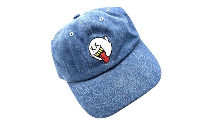 8c5f9c76f79 zhidan wei Distressed Boo Mario Ghost Baseball Cap 3D Embroidery Dad Hats