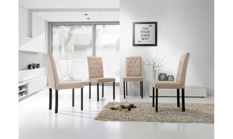 Gardner Fabric Upholstered Dining Chair (Set of 4)