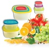 Flex Reusable Food Storage Containers And Lids (20-Piece)