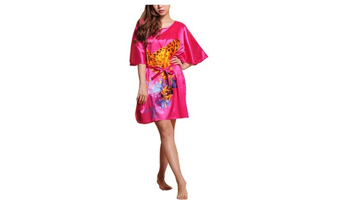 4Ping Women's National Style Loose Ladies Home Clothing Pajama