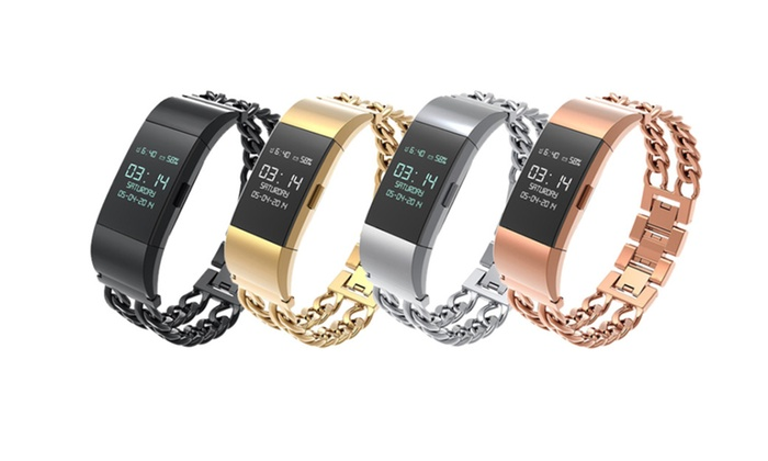 Up To 45% Off on Bands for Fitbit Charge 2,Sta      Groupon Goods