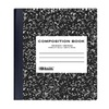 Bazic 508- 48 withR 100 Ct. Black Marble Composition Book - Pack of 48