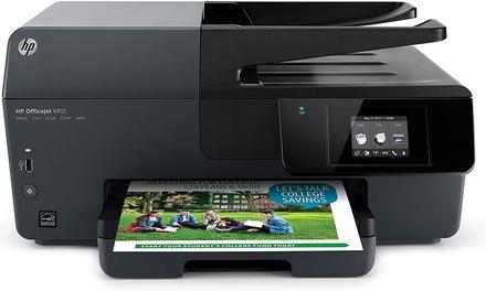 HP Officejet 6812e-All-in-One Inkjet Printer (Black)