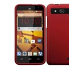 Insten For Zte Speed New Ultra Thin Slim Hard Snap On Shell Case Red