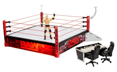 WWE Elite Wrestlemania Ring Playset a7d777a4-cd7f-4b63-bf82-3563e7c169fa