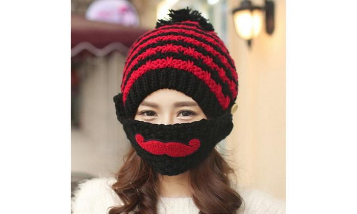 Up To 72% Off on Women Pompom Cap Winter Knitt...  d9e893c2d2e