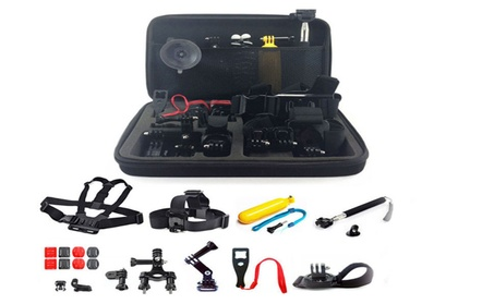 New 26in1 Head Chest Mount Monopod Accessories Kit For GoPro Hero 71c389f3-3090-4929-848b-aa25d8f688bc