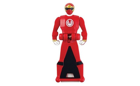 "Power Rangers Super Megaforce Red Ninja Storm Ranger Key 2.5"" 20217aed-d73b-428f-a92c-ba84f0b2fd97"