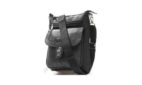 AFONiE Classic Unisex Shoulder Cross-Body Purse (Goods Women's Fashion Accessories Handbags Leather) photo