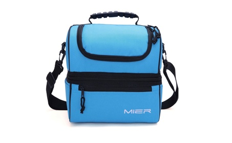 Adult Lunch Box Blue Insulated Lunch Bag Large Cooler Tote Bag for Men 6cd26361-d565-43f8-ae3f-0e2ade2babe3