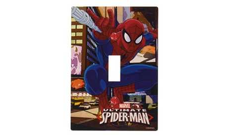 Marvel Ultimate Spiderman Metal Wall Plate 88f44f52-a729-4856-8925-e76bb2d10ebe