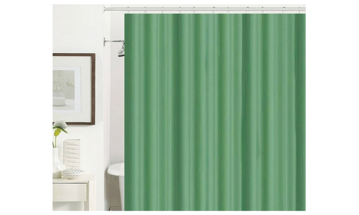 Fabric Liner Shower Curtain Groupon