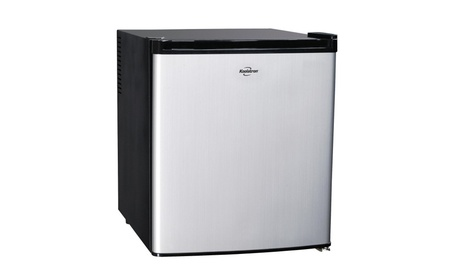 Koolatron KCR40B AC & DC Hybrid Heat Pipe Refrigerator, Silver photo