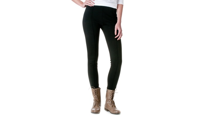 FEMME Front Pintuck Skinny Pants FPU-P0420