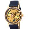 August Steiner Men's Quartz Genuine Leather Strap Watch ASGP8183