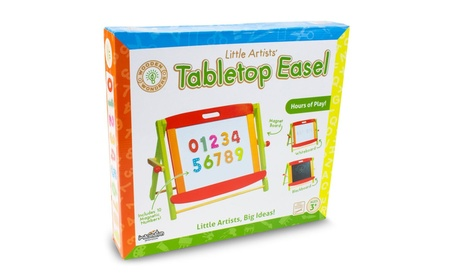 Wooden Wonders Little Artists 3-in-1 Tabletop Easel 9dd17eb1-0964-41d9-83bd-53eec88fc882