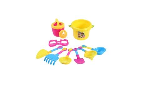 Sand Beach Toys Set Kids Play Water Castle Bucket Shovel Kettle 9PCS fc23484b-bc22-46b0-8b8d-055f0b363f55