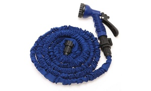 Garden Water Expanding Hose With Spray Nozzle