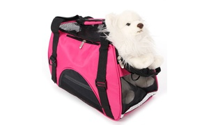 Soft -Sided Airline Approved Waterproof Pet Carrier For Dog and Cat at Wmart, plus 6.0% Cash Back from Ebates.