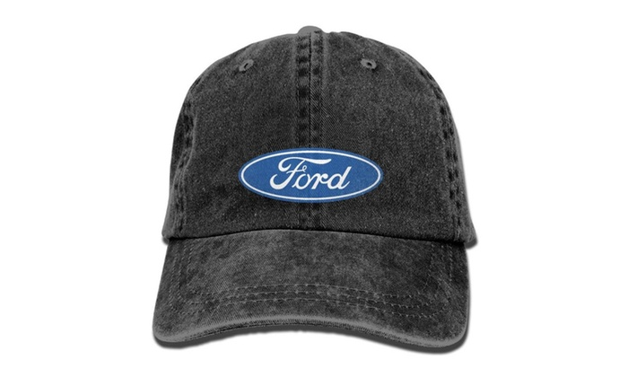 Unisex Ford Logo Baseball Cap Hats Black  e171e10157c