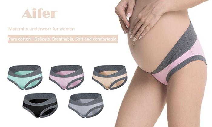 3x Pregnancy Maternity Panties Mother/'s Pregnant Women Low-waist Brief Underwear
