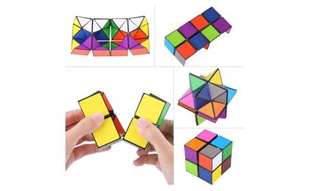 Detachable Infinity Cube 2 in 1 Colorful Magic Cube 86f20e36-4705-43fa-a93b-45a8e16af467