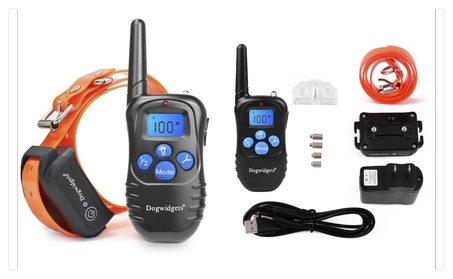 Dogwidgets DW-18 Waterproof Dog Training Shock Vibrate Beep Collar 3329d779-7701-45b0-9707-b23f4b361944