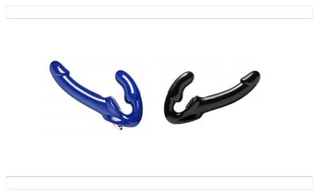 Revolver Strapless Strap on Dildo 17e1323b-6f85-4f00-89c8-99b8bad360a4