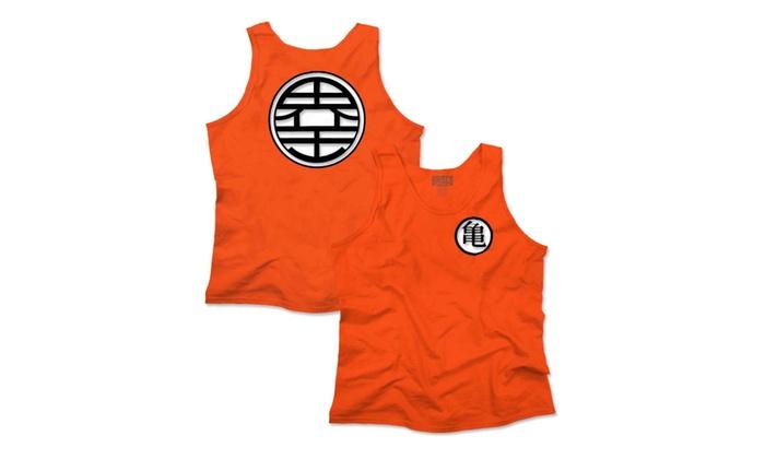 ddb3db861a Master Roshi Turtle School Kanji King Kai Dragon Ball Z Tank Top ...