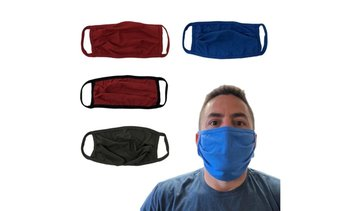 Reusable Washable Large Face Mask - 3 Pack