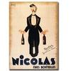 'Nicolas Fines Bouteilles' Canvas Art