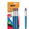 BIC 4-Color Ballpoint Pen, Medium Point (1.0mm), Assorted Inks