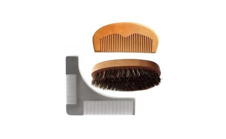 New Beard Mustache Hair Face Tool Comb Brush Set 82893bc1-349a-429c-a8af-6fa3e09b7eb2