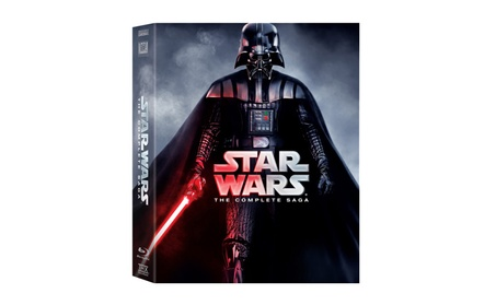 Star Wars The Complete Saga 1,2,3,4,5,6 (9 Blu-Ray Discs Box Set) f9f92678-5517-490f-8e82-4d7bd1174add