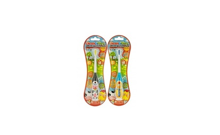 "This Manual Toothbrush for Kids Sings ""Old MacDonald' Tune 00998297-d40d-4305-8696-d4c165a96bd3"