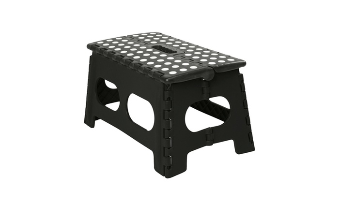 Extra Wide Folding Step Stool Groupon