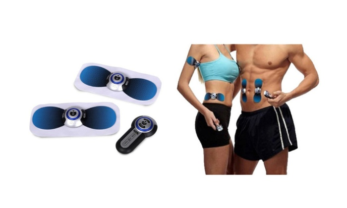 Body Toner and AB with Remote Control and Pouch