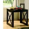 Furniture of America Brockton Glass End Table