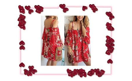 Women Sexy Cocktail Beach Casual Mini Floral Special For Valentine Day 84ef1e9b-2051-44ab-9f82-150f3cfde3f2
