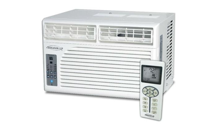 Soleus Air WM1-06E-02 6,000 BTU 115-Volt Window Air Conditioner Refurbished
