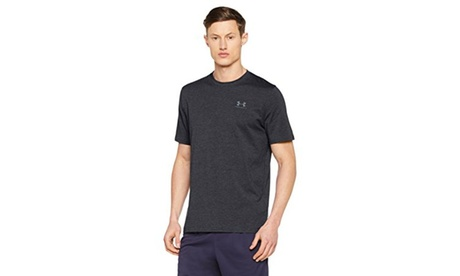 Under Armour Mens Charged Cotton Sportstyle T-Shirt - L - Black/Steel 433dae7c-42f1-468c-b8e1-4139d9955395